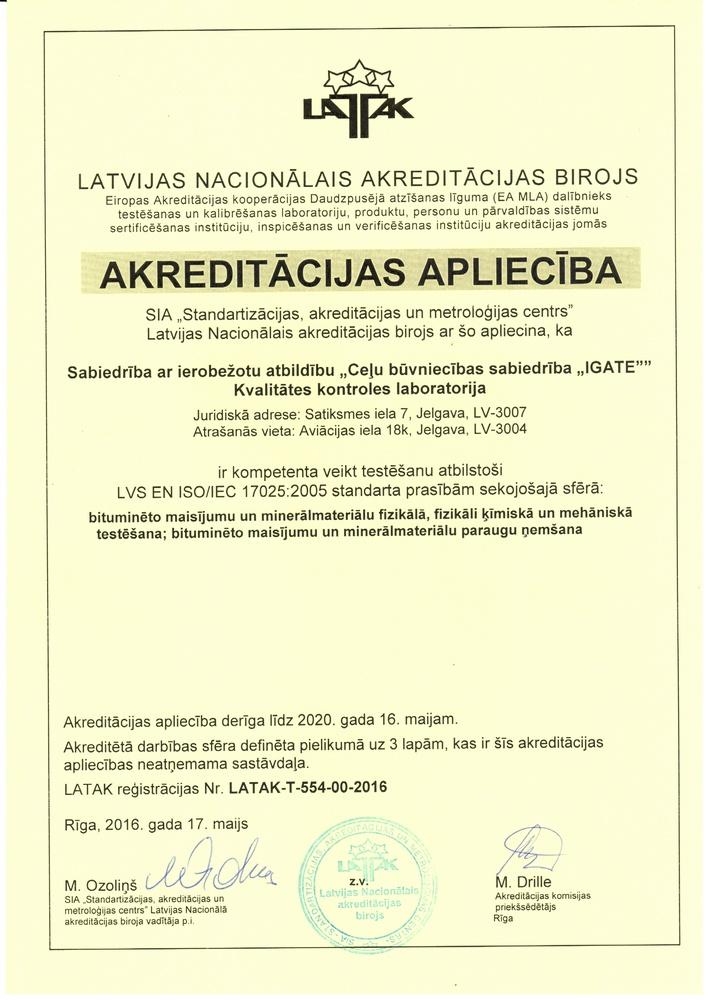 Akreditacija Laboratorija