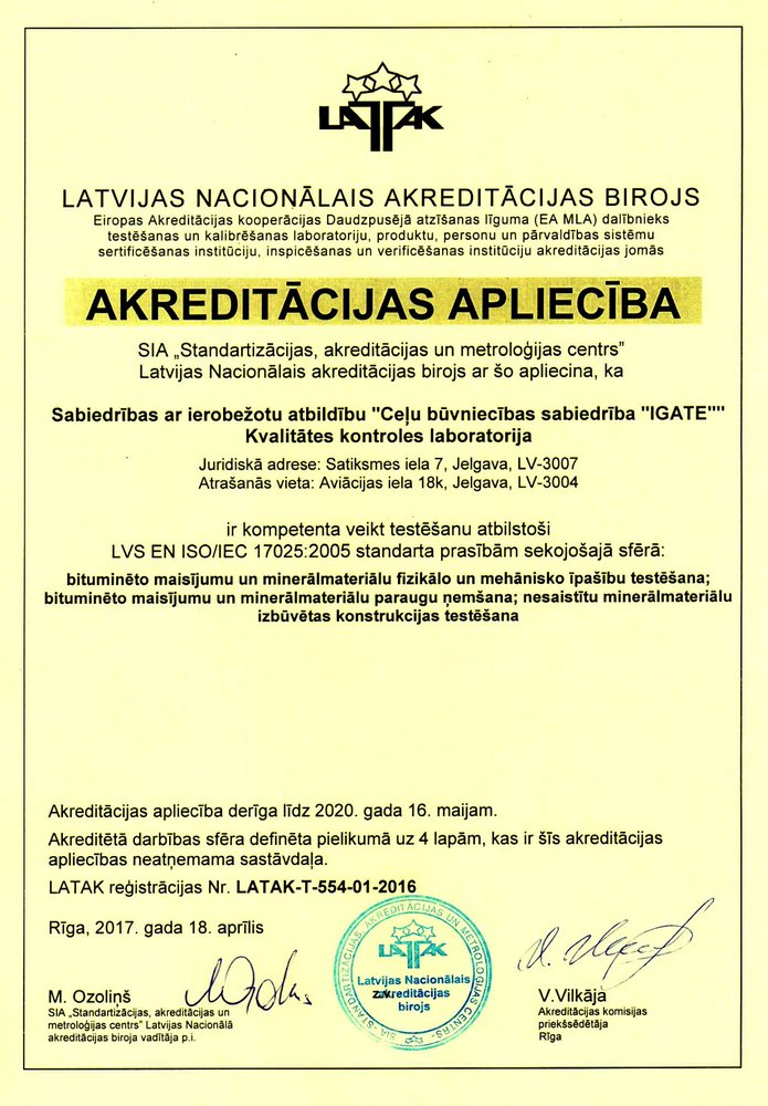 Laboratorijas akreditacijas aplieciba www 2017-2020